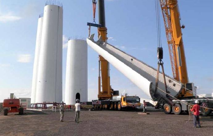 Upotreba betona u konstrukciji vjetroagregata